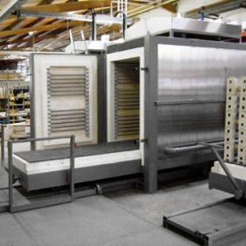 Haardwagen oven 1000-1320°C
