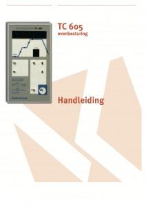 Gebruiksaanwijzing tc 605 regelapperaat