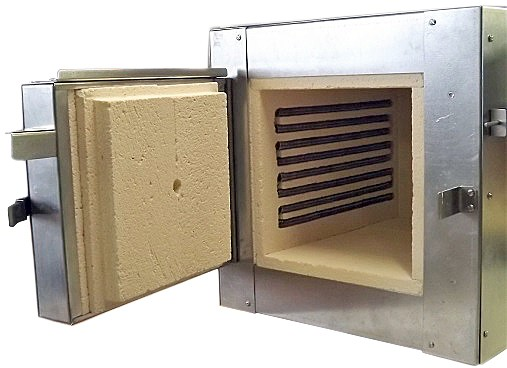 Kleine oven MR 1050-P. 1050°C